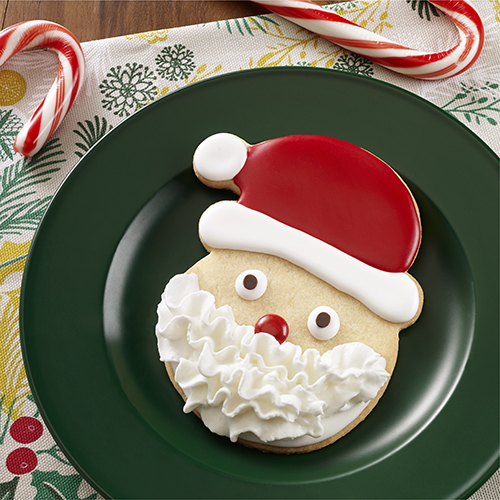 Galletas de azúcar Santa Claus